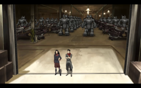 Asami already has a fleet of giant robots. Just let me dream of a world where Mako Mori works for Future Industries and Mako doesn't exist.
