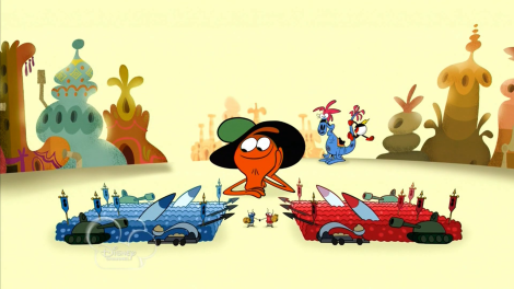Somewhere, there's an episode of The Powerpuff Girls with an angry ant army that was never produced...