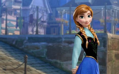 Yeah, she kind of looks like the main character from Tangled but who care? She's adorable.