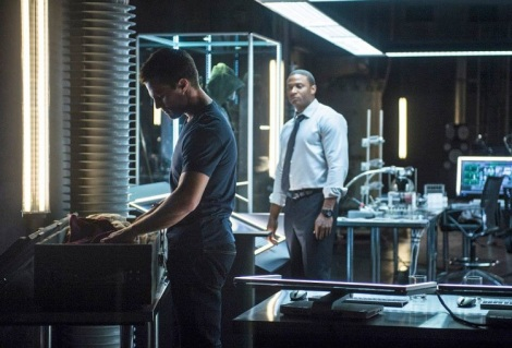 Diggle it looks a bit creepy with you in the background just watching Oliver