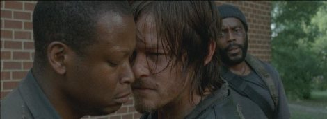 Alpha male Daryl laying down the law.