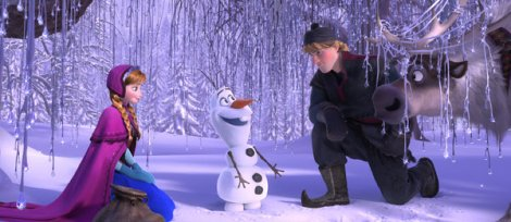 Even Anna and Kristoff aren't quite sure how to feel about him.