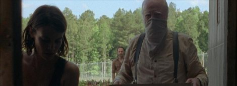 Hershel on his mission to get elderberry tea to everyone.
