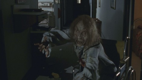 The elderly walkers were truly the stuff of nightmares.