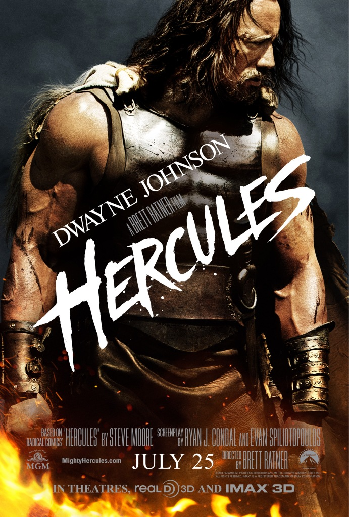 HERCULES - Poster art