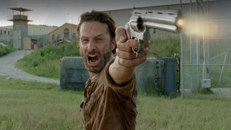 At least Hershel went out proud of you, Rick. You've got that going for you.