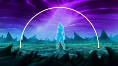 Seriously, a giant blue astral projection is nothing. [piandao.org]