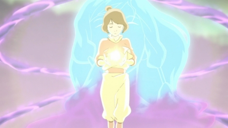 And Jinora didn't have to make some bizarre soul-selling contract to save the world. [piandao.org]
