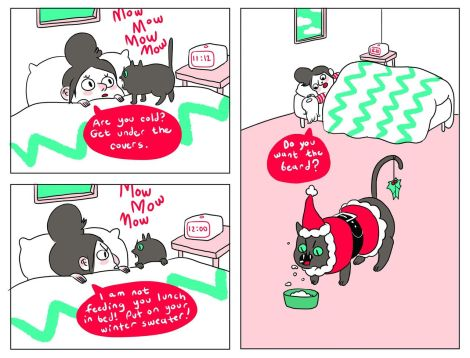 Natasha and Pancake are my favorites. [funnypageszine.tumblr.com]