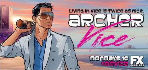The Miami Vice look suits him. [facebook.com]