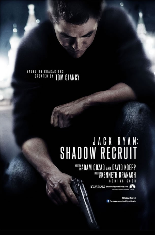 Jack Ryan Shadow Recruit Chris Pine