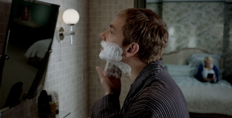 "Yes, ""I don't shave for Sherlock Holmes"" is already a thing."