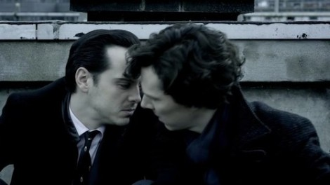 Hey Andrew, yeah, it's Mark, can you come back for series 3 to kiss Benedict?
