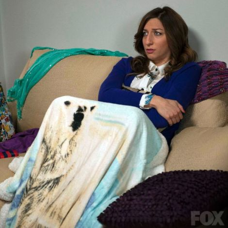 Sweet blanket, Gina. [fox.com]