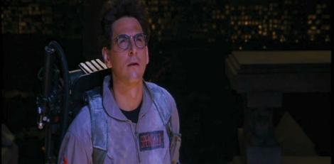 Ramis as Spengler in Ghostbusters. [screened.com]