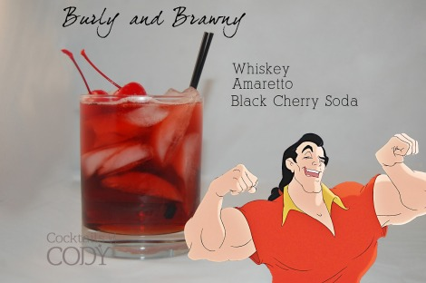 It may be for the testosterone-inclined, but I am looking at this one with a lot of interest. Assuming 1:2 ratio again. And top with... cherries? Not very brawny, though I guess if he likes popping them?