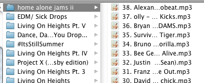 The fact that album art is downloaded and the tags are all there...omg. Yes.