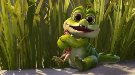 Crocky is pretty much one of the best parts of this movie. [Disney]