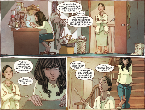 Story of my life, Kamala. Story of my life. [Comic Pow]