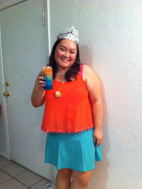 Yes, I was Asian Ariel, and yes, I did make this drink solely for picture taking purposes.