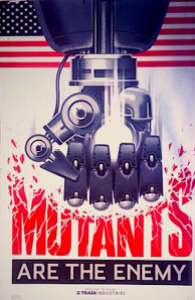 mutants are the enemy