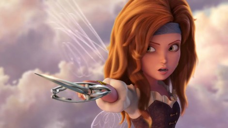 Zarina, who briefly runs away, returns with perfect hair. [Disney]