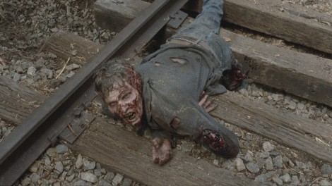 Let's talk about how Tyreese is not a very responsible adult. Carol would've put that walker down immediately, Tyreese.