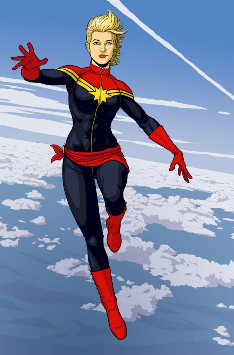I always imagine her the way Jamie McKelvie draws her. [comicbookresources.com]