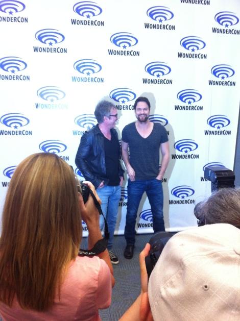 Brannon Braga and Shane West