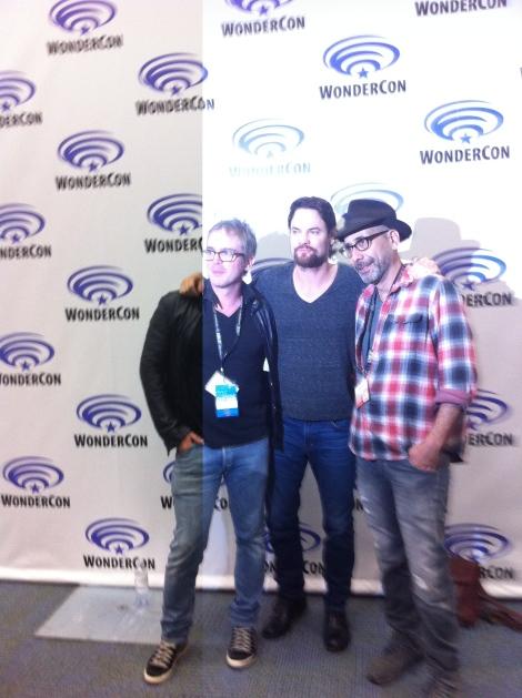 From Left to Right: Brannon Braga, Shane West, Adam Simon