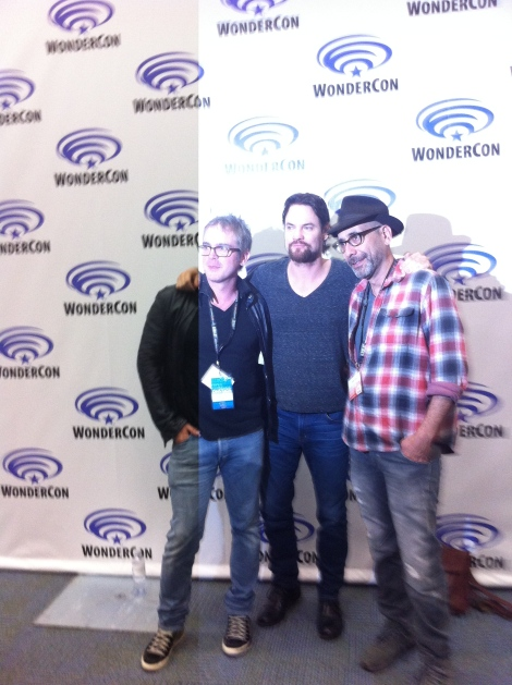 From Left to Right: Brannon Braga, Shane West, Adam Simon