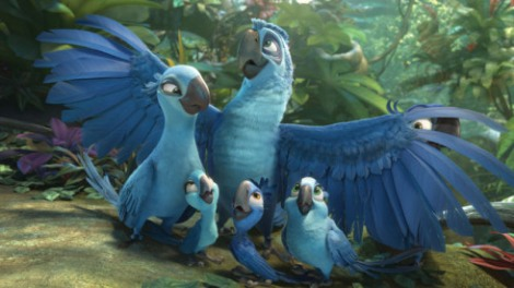 No matter how badly Eduardo - a macaw from Jewel's past - wishes it weren't. [20th Century Fox]