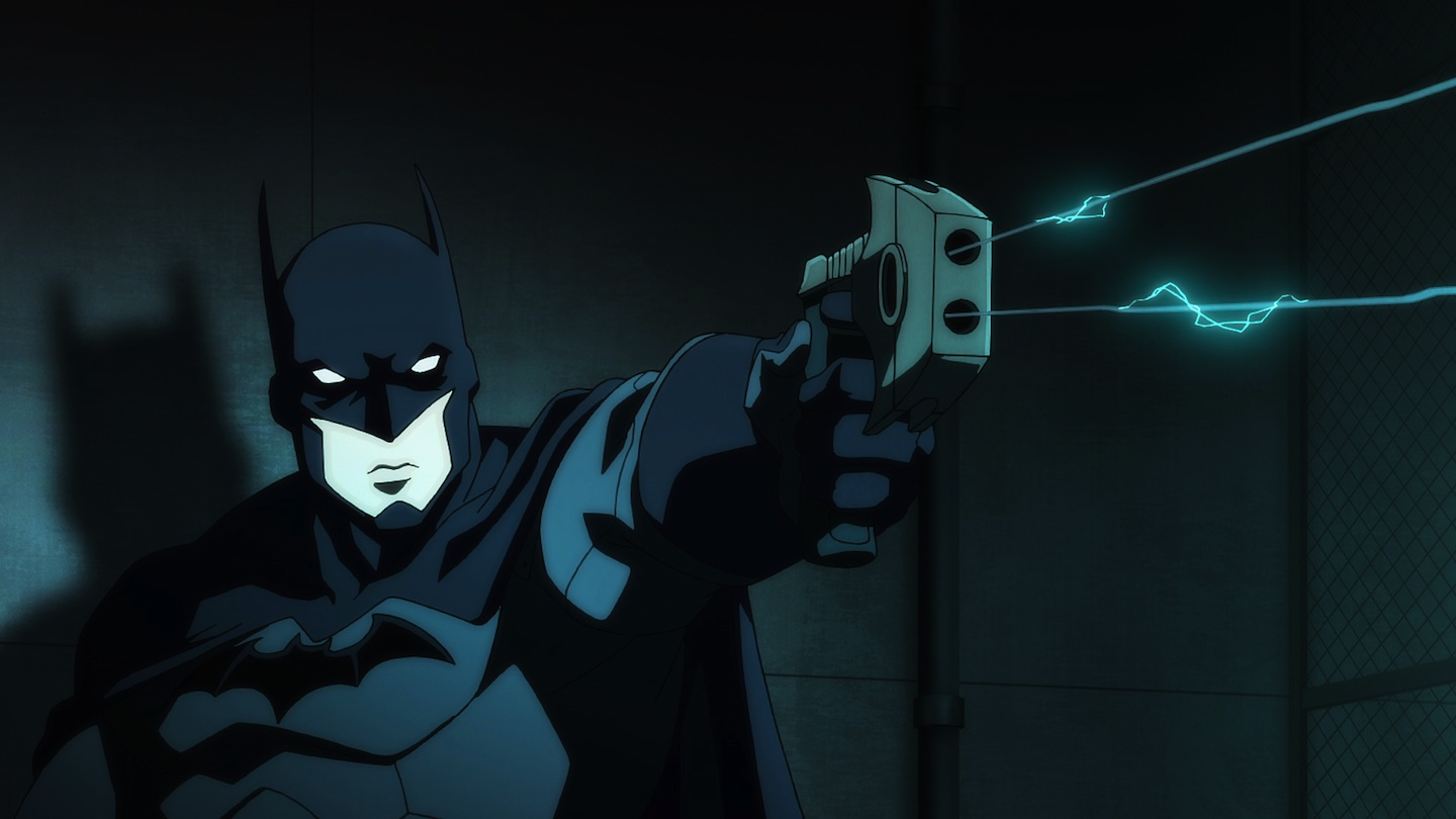 The Batman - always a bad ass no matter what story or who he's played by. Jason O'Mara, though, does a great job. [DC]