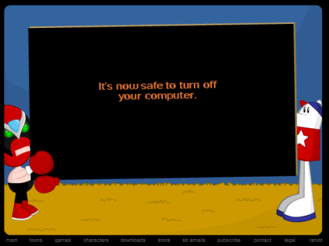 Also in traditional Homestar fashion, be sure to click around for easter eggs! [socratescloset.tumblr.com]