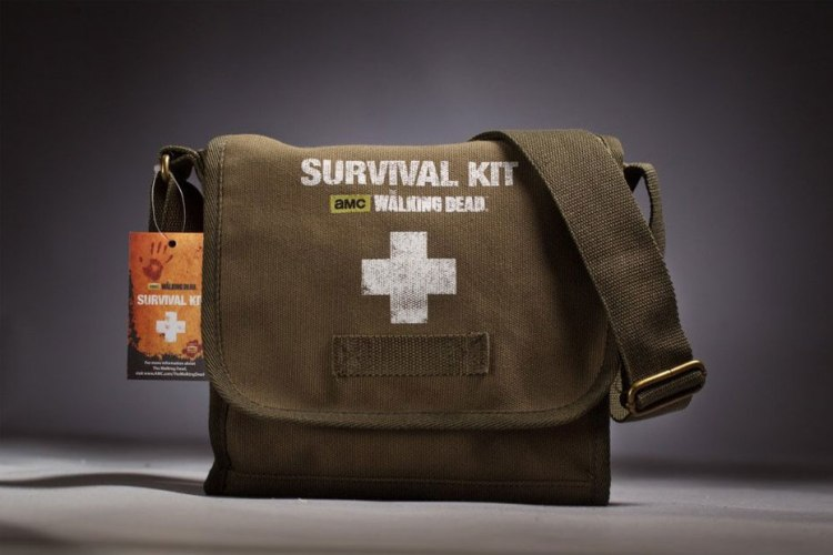 walking dead survival kit feature