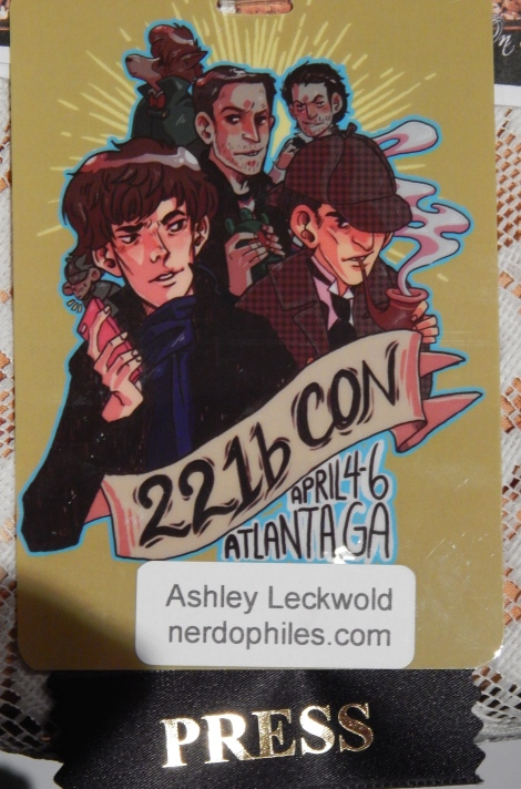 This is also the first con I've ever attended as press. YAAAAY!
