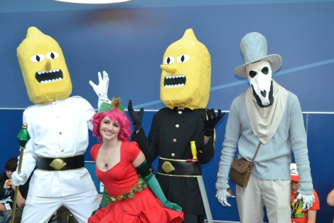 """Adventure Time! I wonder if they found the con """"UNACCEPTABLEEEE"""""""