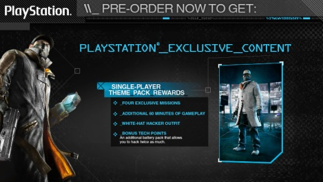 Where Should I Pre Order Watch Dogs  From