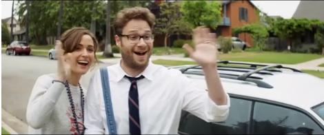 Hi Neighbor! Mac and Kelly, the perfect suburban couple.