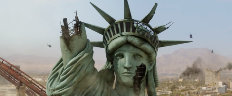 Death of Lady Liberty.