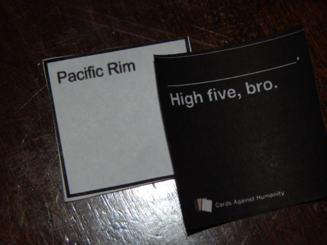 The final winning play of Cards Against Humanity describes it all.