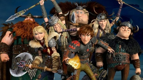 The gang's all bad with all its emotion and adventure. Hiccup's and Astrid's relationship is so adorably awkward.
