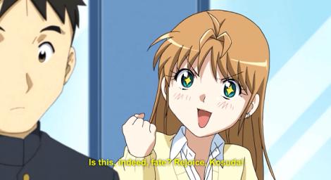 Yamada recognizes Kosuda and sets her sights.