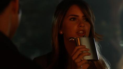 One of the first times I've actually felt like Malia is being self-empowered, ironically enough.[TeenWolfDaily.com]