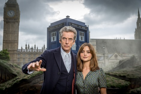 What will this new age gap between the Doctor and his companion mean for the romantic tension that accompanied Matt Smith's episodes? (Also, this pose is SO Bowie.)