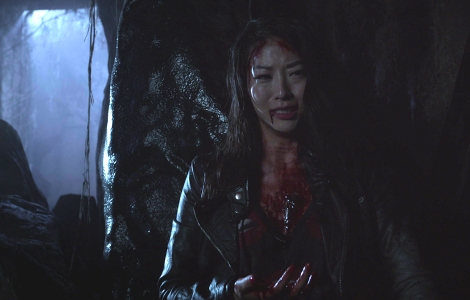 At this point, I'm screaming at my computer screen because I cannot lose another female character on this show.[teenwolfdaily.com]