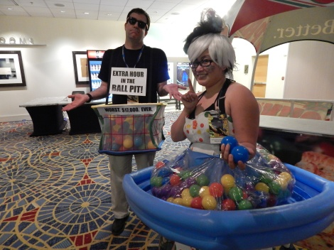 Also this. *sigh* Stupid ball pit.