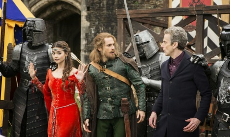 The humorous back and forth bickering between the Doctor and Robin Hood was what carried most of the episode.