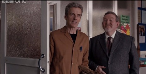 Coal Hill's new caretaker, John Smith.