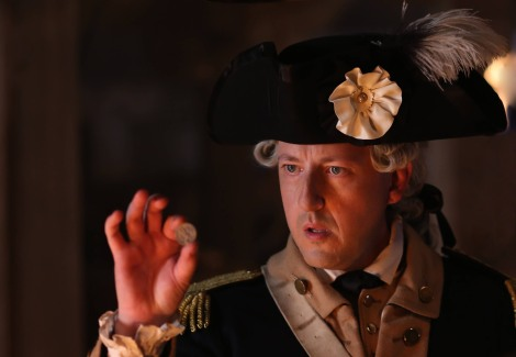 Of course, Benedict Arnold was brainwashed by magical coins. That's the only logical explanation. [Fox]